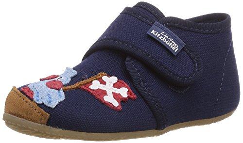 Living Kitzbühel Babyklettschuh Pirat & Papagei, Chaussures premiers pas pour bébé (garçon)