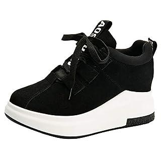 WWricotta Damen Sportschuhe Atmungsaktiv Turnschuhe Laufschuhe Schnürschuhe Freizeitschuhe Outdoor Sneaker Shoes Plateauschuhe