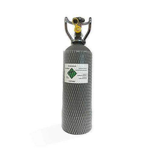 S + M CO2 Mehrweg-Vorrats-Flasche 2Kg gefüllt mit Lebensmittel (E290) Kohlensäure