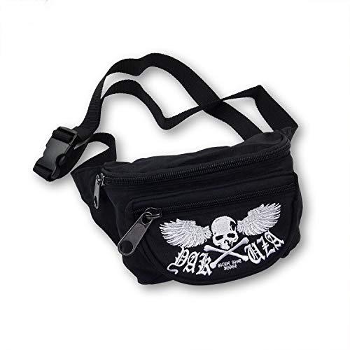 Yakuza Unisex Flying Skull Gürteltasche Bauchtasche