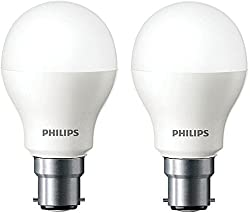 Philips Base B22 4-Watt LED bulb (Cool Day Light,Pack of 2)