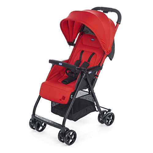 Chicco Ohlala2  Silla de paseo ultraligera y compacta, solo 3,8 kg, color rojo