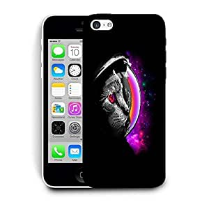 Snoogg Astrocat Designer Protective Back Case Cover For IPHONE 5C