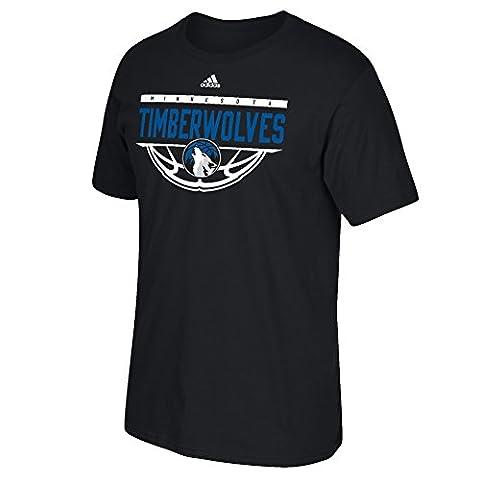 NBA Minnesota Timberwolves Men's Balled Out Short Sleeve Tee, 3X, Black