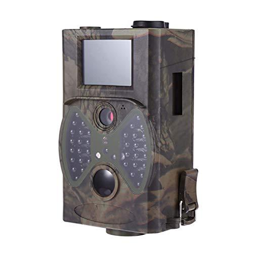 Yardwe 1080P HD Jagd Kamera Infrarot Nachtsicht Jagd Scouting Kamera IP65 Wasserdichte Outdoor Camcorder für Wildlife Jagd Überwachung und Farm Security