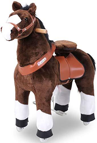 Ponycycle Mister Ed  Pferd braun