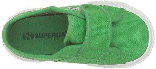 Superga 2750-bvel, chaussures premiers pas mixte enfant Vert - Grün (C88 Island Green)
