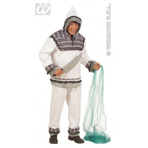 WIDMANN wdm5715a-Kostüm für Erwachsene Eskimo, Weiß, XL (Eskimo Kostüm Weiß)
