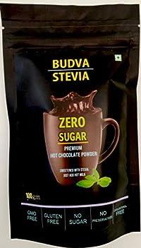 Budva Stevia Hot Chocolate Drink Powder 100g
