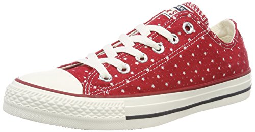 Converse Unisex-Erwachsene CTAS OX Gym RED/Garnet/Athletic Navy Sneaker, Rot 688, 44 EU