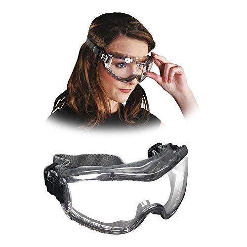 MCR MCR-Stryker-F-T Safety Goggles, Transparentgrey, Pack of 12