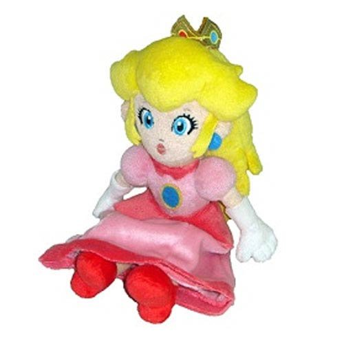 Cute Mario Kostüm Bros - Little Buddy Toys Offizielles Super Mario Plüsch 20,3 cm Prinzessin Peach