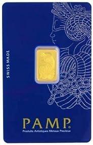 Swiss Pamp 24K (999.9) 1 Gram Gold Bar