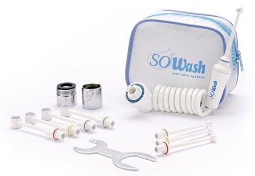 """SOWASH - Verpackung """"FAMILY"""" - am Wasserhahn anschließbare Puls-Munddusche für die Mundhygiene"""
