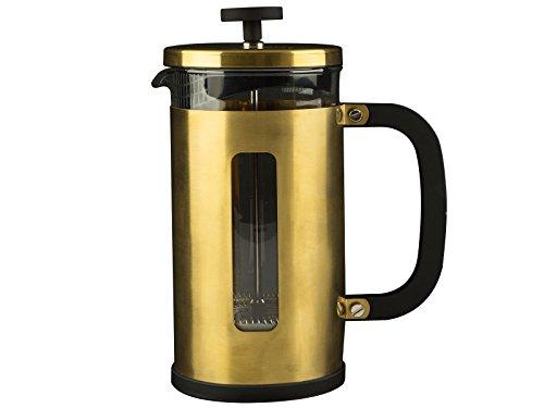 CREATIVE TOPS La Cafetière Brights, gelber Becher, 500 ml (17 floz), Edelstahl, One Size Caf ? Cup