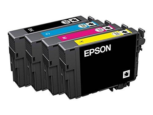 Preisvergleich Produktbild 1x Original Epson Multipack C13T29964010 T2996 T 2996 für Epson Expression Home XP 330 Series - BK, Cy, Ma, Ye - Füllmenge: BK ca. 11,3ml / Farben ca. 6,4ml