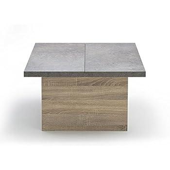 intégrés rangements Table Alinéa foncé Milo avec Gris Basse dxECBeWroQ