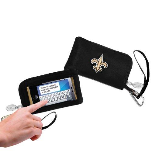 NFL ID Wallet, Jungen Damen Mädchen Unisex herren, New Orleans Saints, Small
