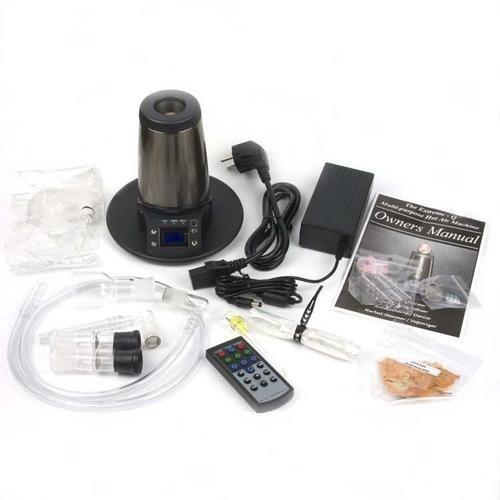 Arizer Extreme Q Vaporizer 2012 v5 mit Lüfter und Fernbedienung - Tuff Pack Version