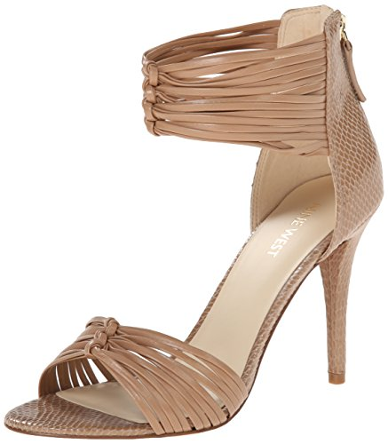 Nine West Dechico Synthétique Sandales Light Natural/Light Natural