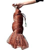 WEATLY Red de Pesca con línea de neumático Tradicional Red de Mano para Cebo Trampa Peces 3m / 3.5m / 4m (Color : 1z, Size : 3M)