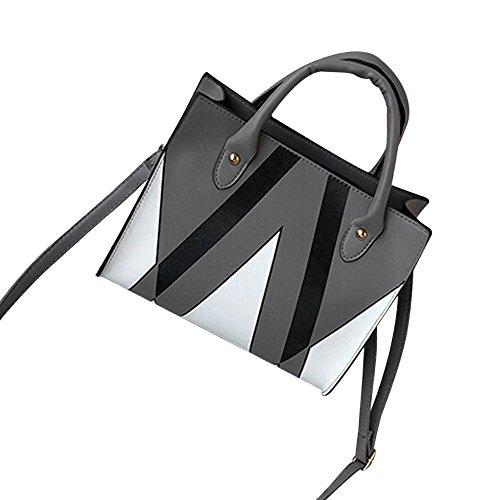 Tasche Damen UmhäNgetasche, Huihong Damen Shopper Tote Elegante Business-Taschen UmhäNgetasche PU Leder Handtasche Schultertasche (Gesteppte Notebook-tragetasche)