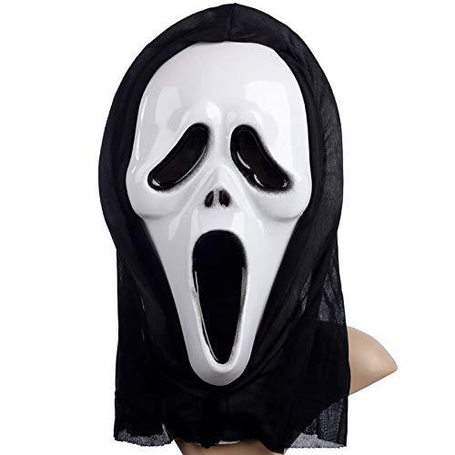 Kostüm Scream Scary - Seba5 Home Scary Mask Cosplay Kostüm Maske Scream Skull Ghost Mask Gefälschte Gesichtsmasken for Erwachsene und Kinder