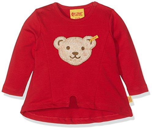 Steiff Baby-Mädchen Sweatshirt 1/1 Arm, Rot (Tango Red 2016), 74