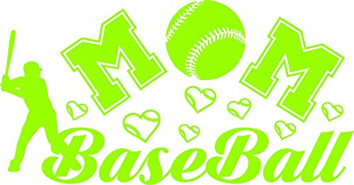 SUPERSTICKI Baseball Mom Sticker Decal 3