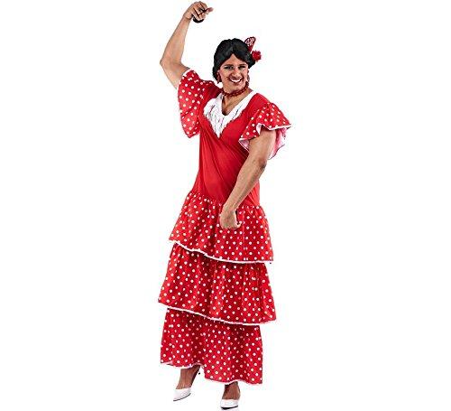 Zzcostumes Sevillana Kostüm mit Polka Dots für Männer