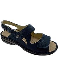 M2595 sandale orthopédique bleu extra large clé à molette