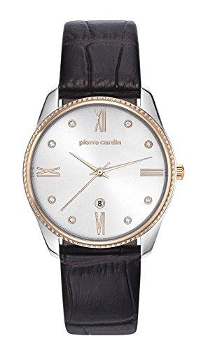 PIERRE CARDIN Femmes Analogique Quartz Montre avec Bracelet en Cuir PC107572F01