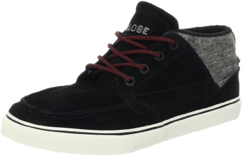 GLOBE Skateboard Shoes DUNCOMBE BENDER BLACK/TWEED/RED  Billig und erschwinglich Im Verkauf