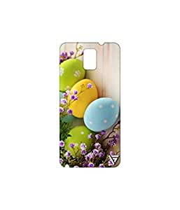 Vogueshell Lovely Eggs Printed Symmetry PRO Series Hard Back Case for Samsung Galaxy Note 3