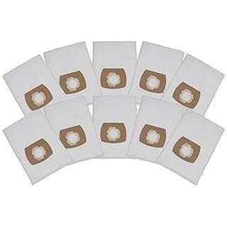 10 Premium Staubsaugerbeutel passend für Kraft NTS 1400-30 / 30L / 715, 966