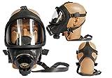 Auer Schutzmaske ABC-Maske Gasmaske gebraucht Panoramamaske