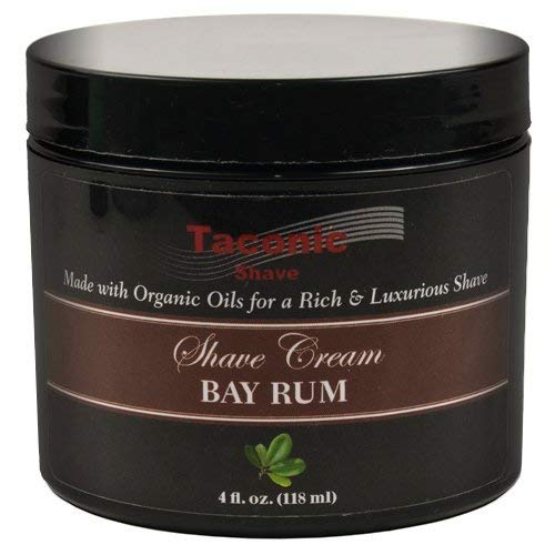 Taconic Shave Bay Rum Rasierschaum, schafft eine reiche und luxuriöse Lather - 4 Oz -