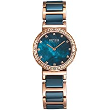 Bering Time Damen-Armbanduhr Analog Quarz Edelstahl beschichtet 10729-767