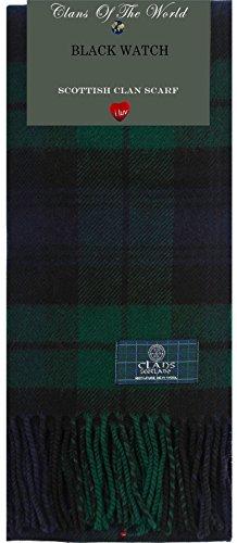 iLuv Black Watch Modern Tartan Clan Scarf