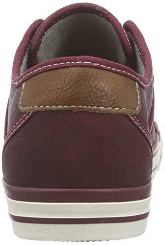 Mustang 1209-301, Sneakers Basses femme Rouge (55 bordeaux)