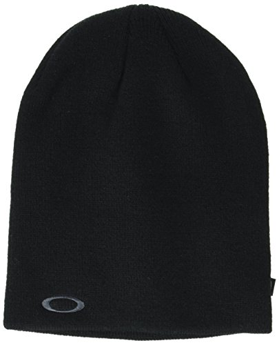 Oakley Herren Fine Knit Beanies, Blackout, One Size