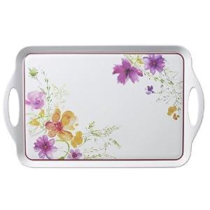 Villeroy & Boch Mariefleur Kitchen Tablett, 48x29,5x2,8 cm, Melamin, Weiß/Bunt