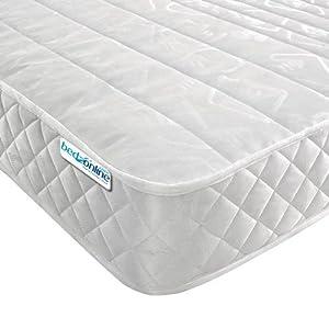Bedzonline Micro Quilted Budget Mattress, Damask,,