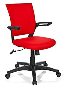 hjh OFFICE Office Chair, Fabric red