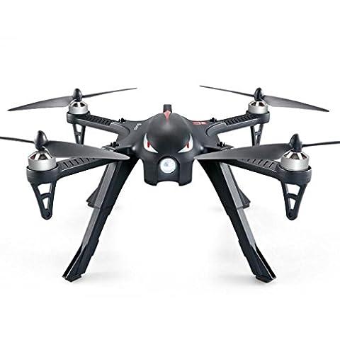 nesee MJX B3Bugs 3RC Quadcopter RTF Zweiwege-2.4GHz 4CH mit Action Kamera Halterung, schwarz