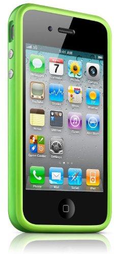Hülle iPhone 4 Bumper Grün Vert