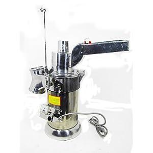 MXBAOHENG automatico continuo Hammer macina macinino Pulverizer Machine 20kg all' ora 110V o 220V, Acciaio inossidabile, S, 110V