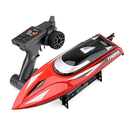 Mogicry Speedboat Wasser Spielzeug Boot Motorboot Boote für Erwachsene RC Boote für schnelle Fernbedienung Boat Lake Spielzeug und RC Speed   Boats wasserdichte Jungen Mädchen Geschenk für Kinder 14 +