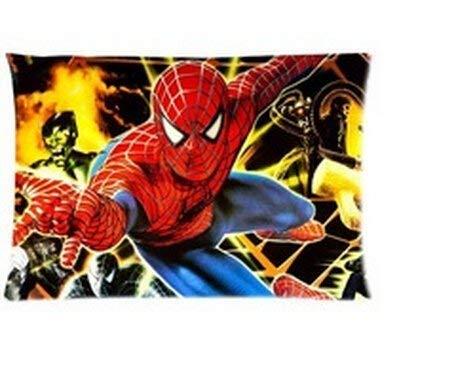 LOOKiigre personnalisés Soft-Home Décoration Dessin animé Superhero Spiderman Fond Housse étui avec Fermeture Éclair 50,8x 76,2cm (Twin Sides) Pdf - ePub - Audiolivre Telecharger