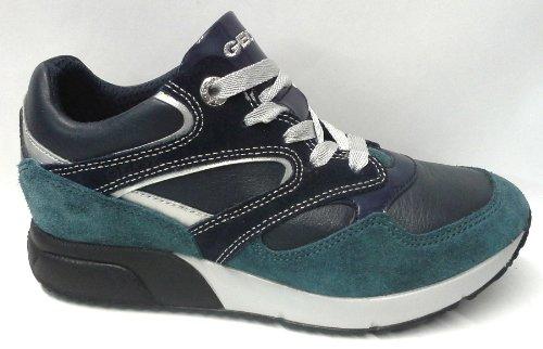 Geox , Baskets pour homme Blanc - Blu